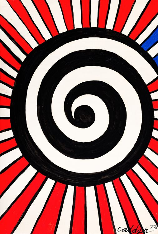 Alexander Calder; Spiral