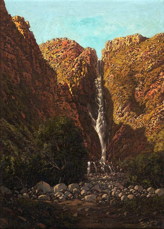 Tinus de Jongh; Waterfall