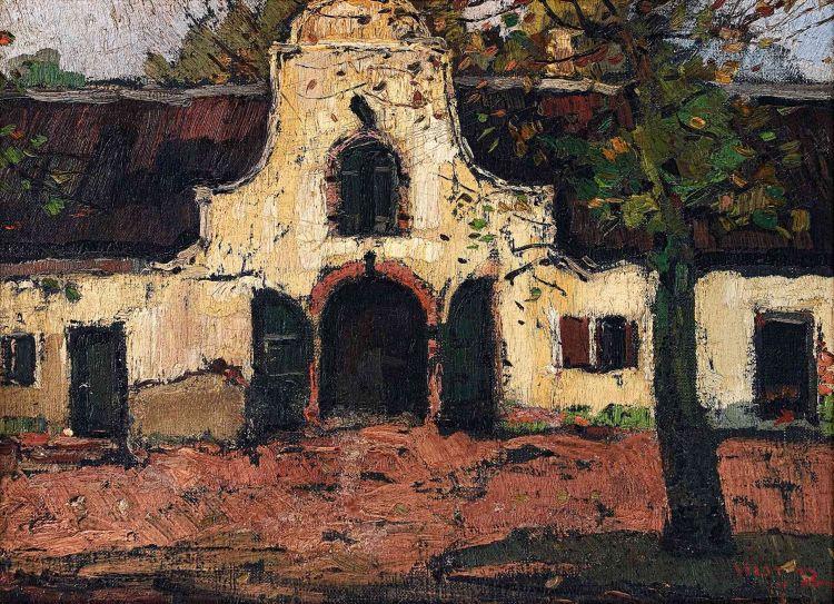 Pieter Wenning; The Stable-doors at Groot Constantia (Jonkershuis)