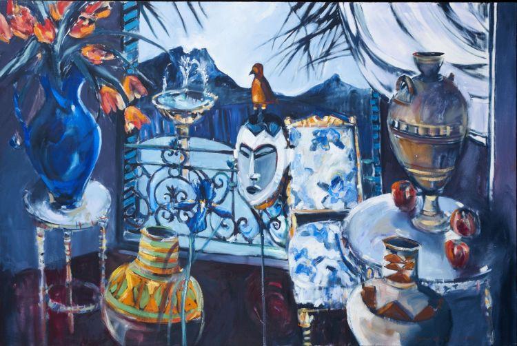 Louis Jansen van Vuuren; Lion's Head from the Balcony