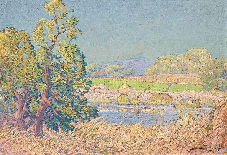 Jacob Hendrik Pierneef; Roodeplaat Dam