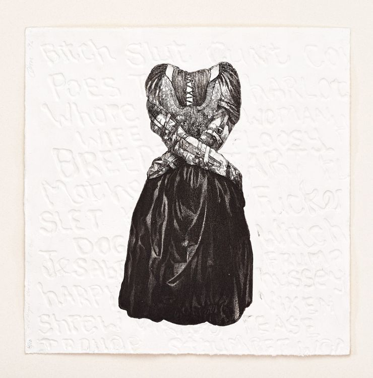 Diane Victor; Straight Dress I