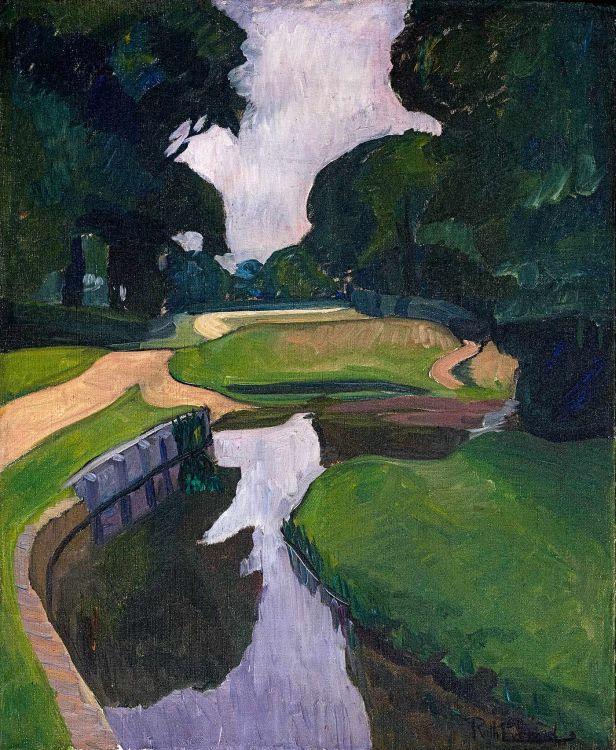Ruth Everard Haden; New Forest III