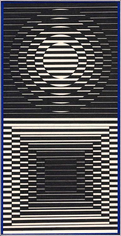 Victor Vasarely; Capella - 22