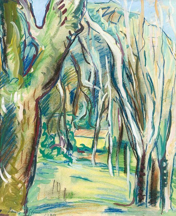 Irma Stern; Verdant Landscape