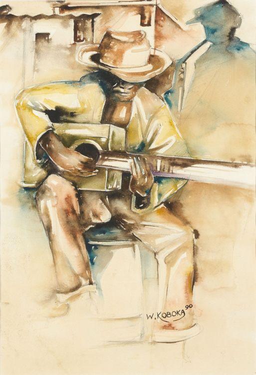 Welcome Koboka; Guitar Player
