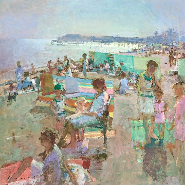 Fred Cuming; The Beach at Hastings
