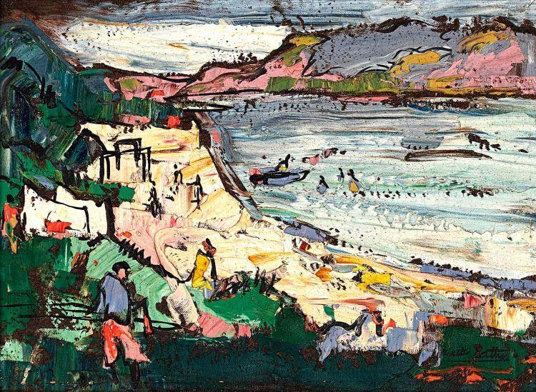 Walter Battiss; Seaside