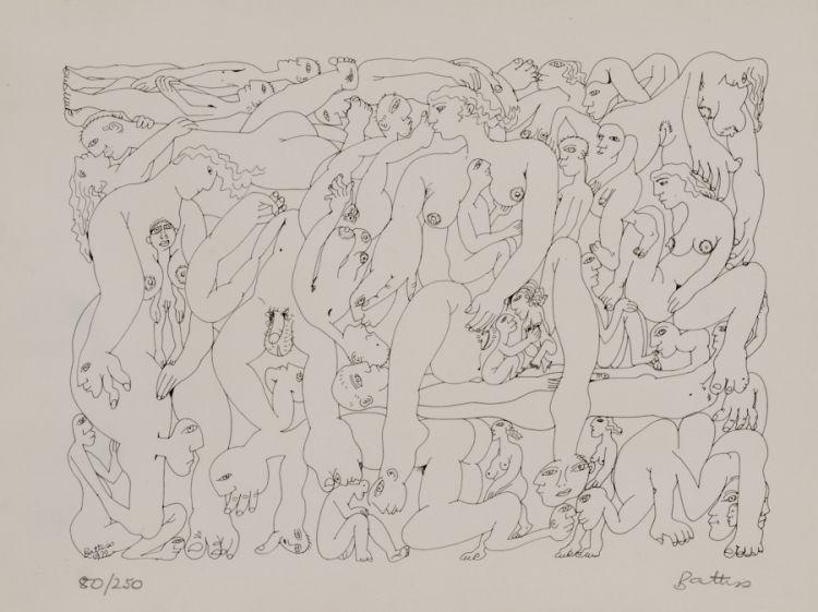 Walter Battiss; Orgy