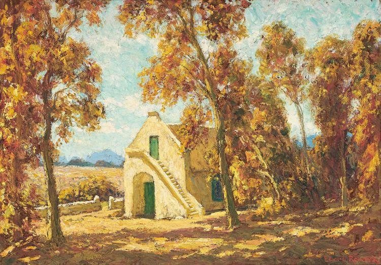 Edward Roworth; Laborie Wine Farm, Paarl