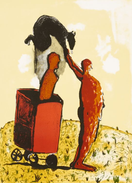 Colbert Mashile; Motshwara Teo (The one who leads the plough)