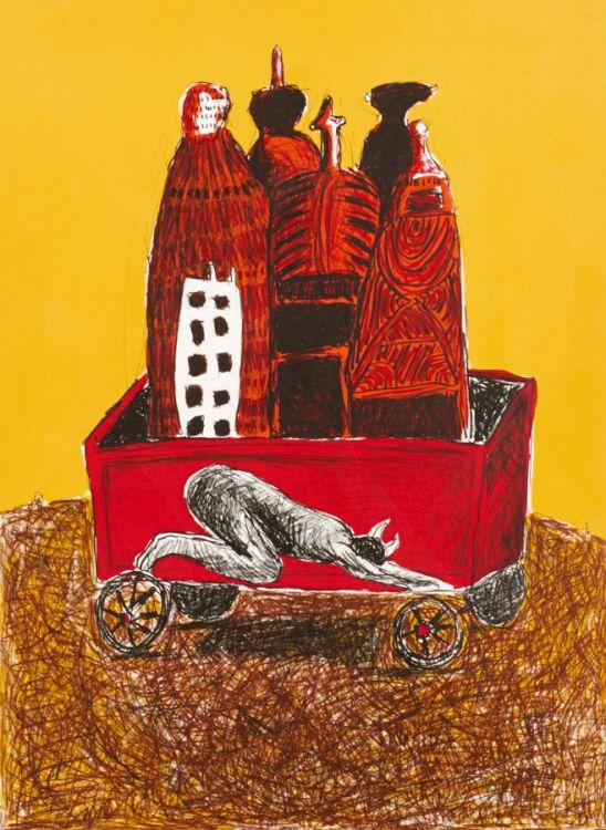 Colbert Mashile; Korama (Kneel)