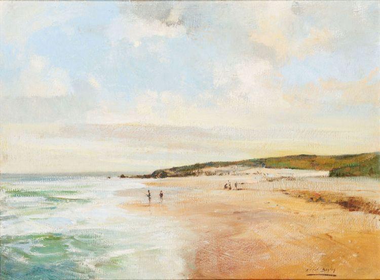 Errol Boyley; Surf Fishing, South Coast