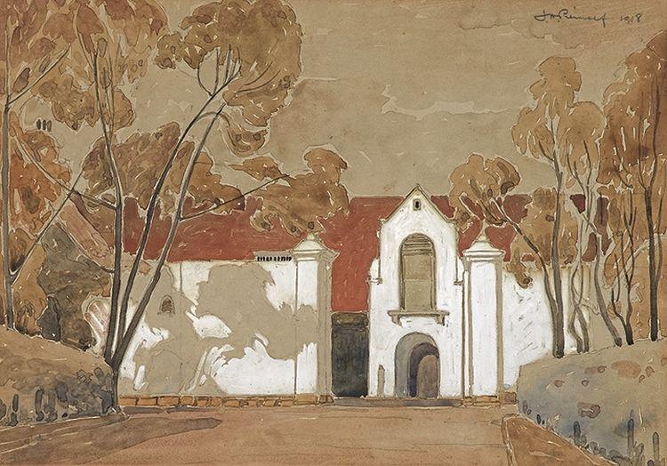 Jacob Hendrik Pierneef; Wine Cellar