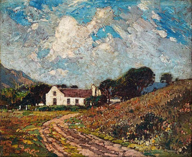 Robert Gwelo Goodman; Farm Near Somerset