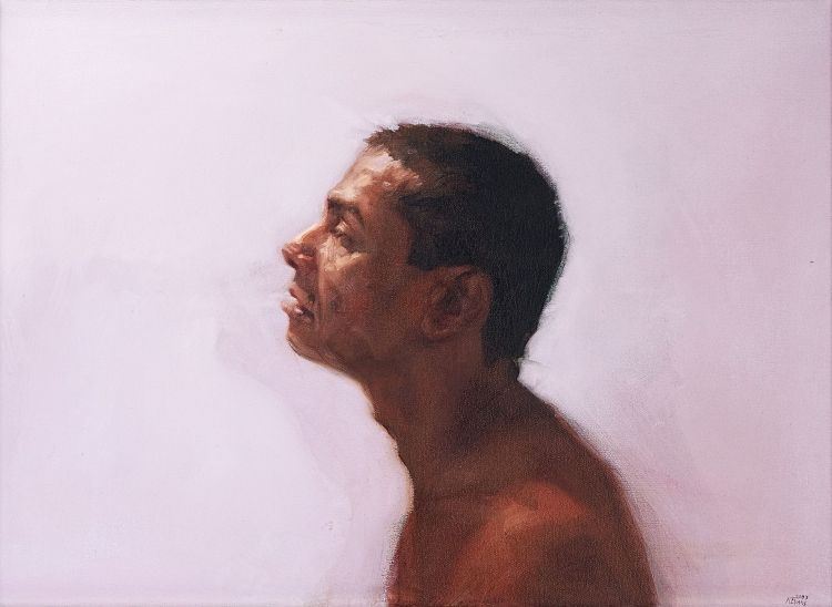 Kerri-Jane Evans; Man in Pink