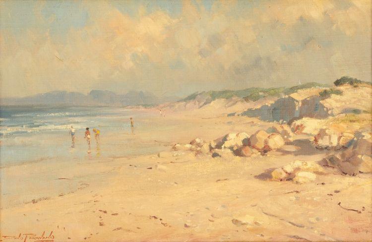 Dino Paravano; Beach Scene