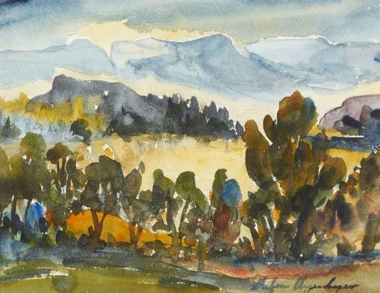 Stefan Ampenberger; Landscape
