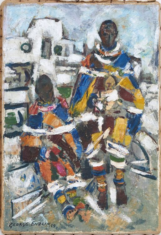 George Enslin; Ndebele Women