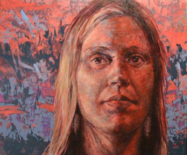 Karen Cronje; Clare (Portrait of Clare Menck)
