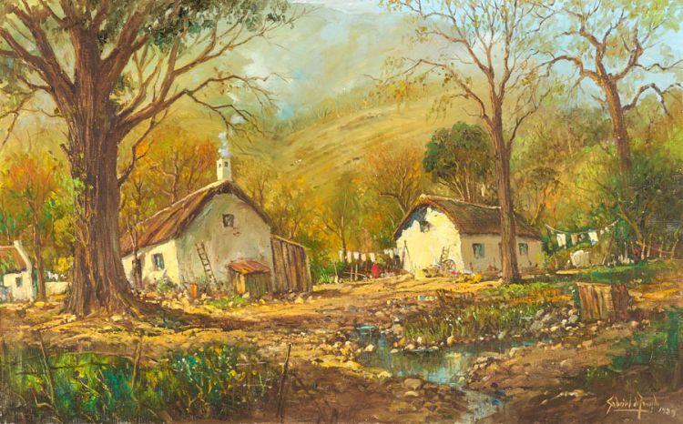 Gabriel de Jongh; Valley Cottages