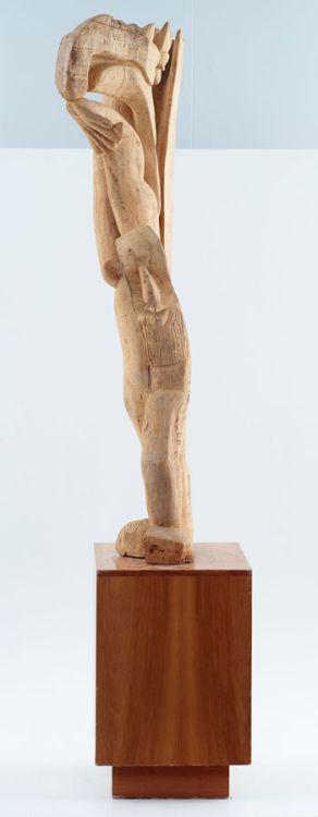 Jackson Hlungwani; Standing Figure