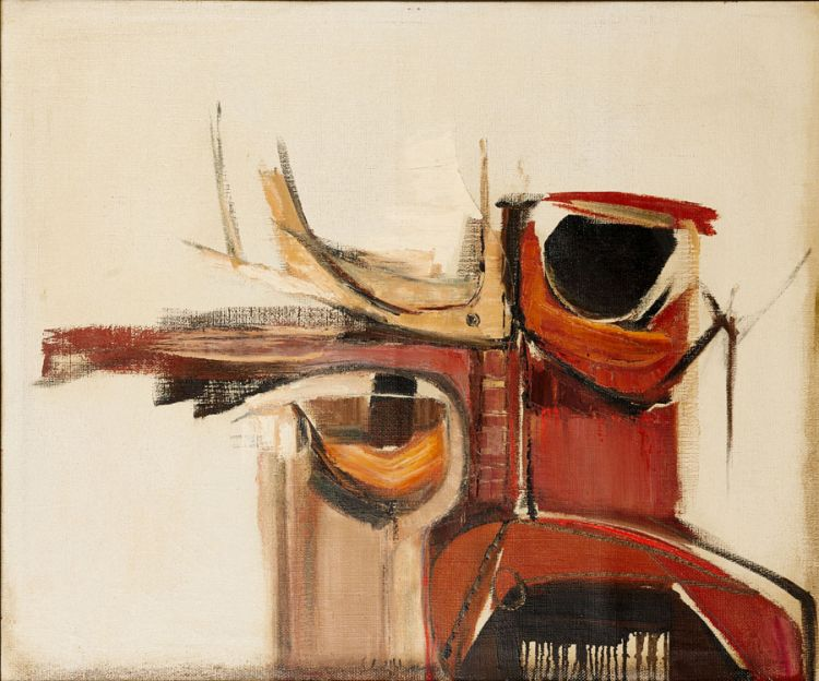 Sidney Goldblatt; Abstract Composition