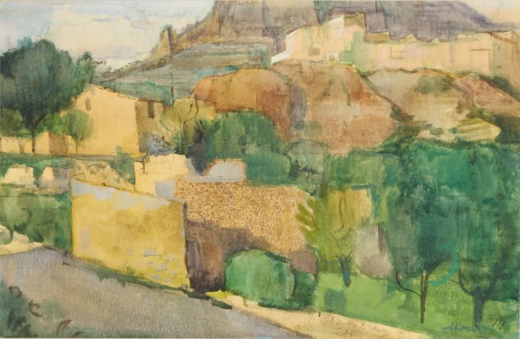 Alfred Krenz; Houses and Trees