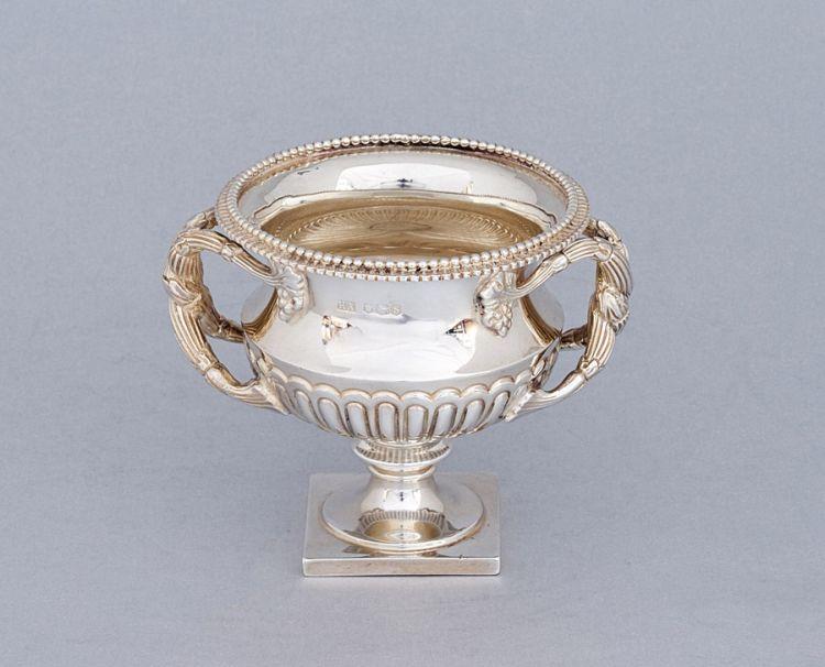A George V silver urn, Atkin Brothers, Sheffield, 1935