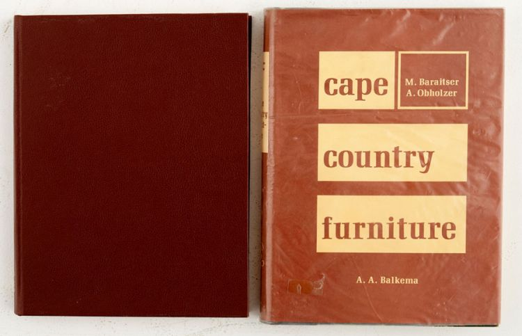 Baraitser, Michael and Oberholzer, Anton; Cape Country Furniture