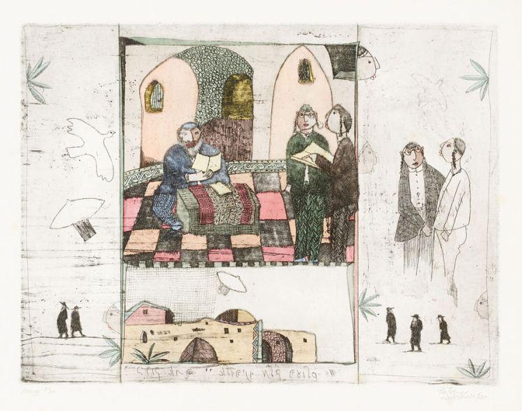 Pieter van der Westhuizen; Visit to the Rabbi