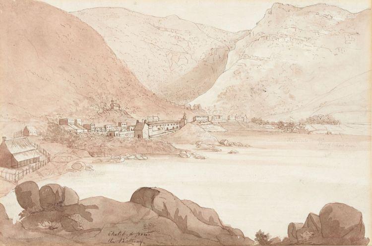 John James Chapman; View of Simonstown