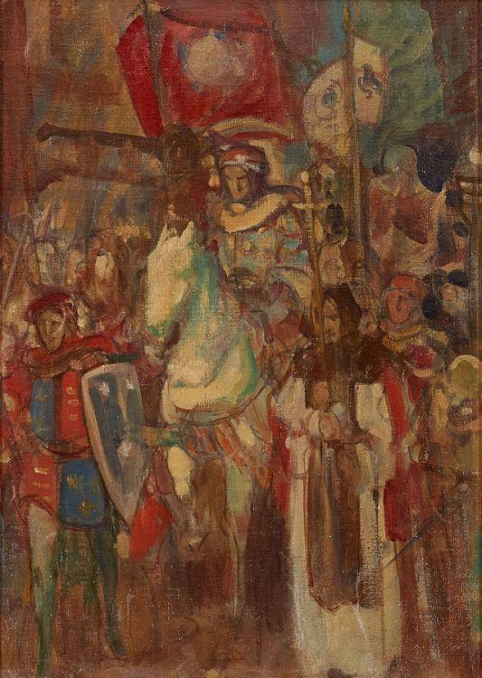 John Henry Amshewitz; Procession