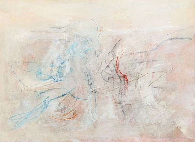 Fred Schimmel; Abstract Composition