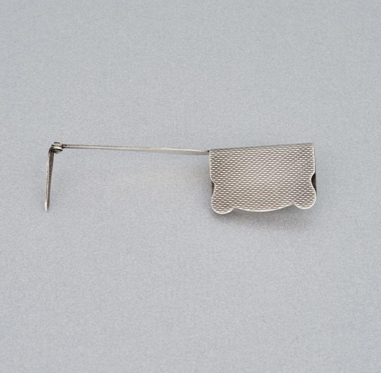 A George VI silver bookmark, Asprey & Co Ltd, London, 1946