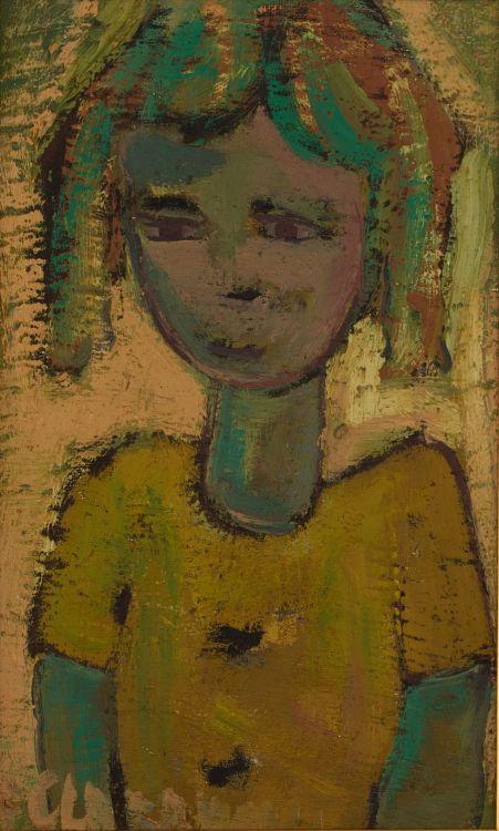 Frans Claerhout; Girl in Green