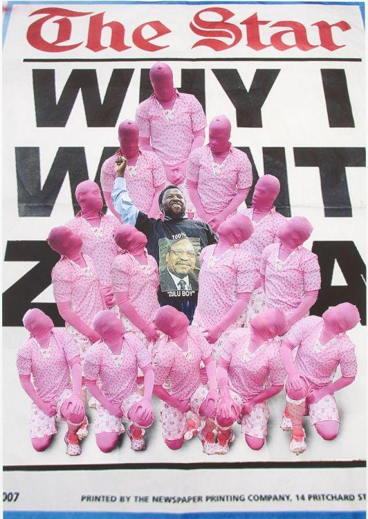 Lawrence Lemaoana; Hierarchy of Colour (100% Zulu Boy)