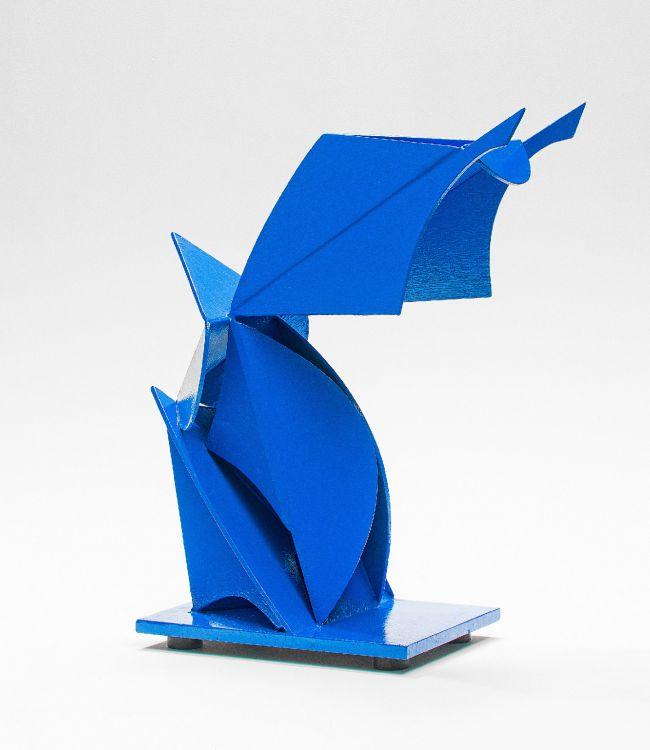 Edoardo Villa; Abstract Composition, Blue