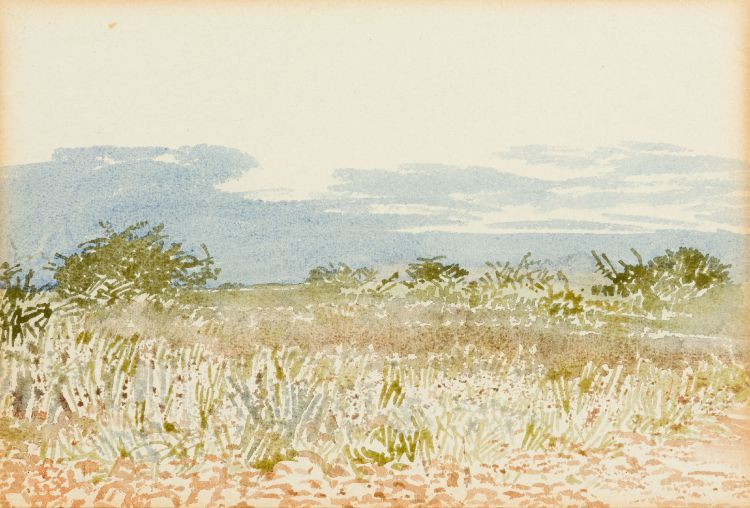 Adolph Jentsch; South West African Landscape