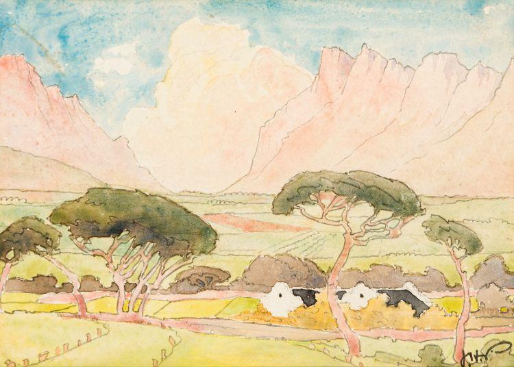 Jacob Hendrik Pierneef; The Farmstead