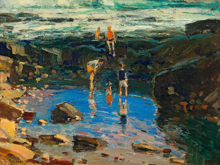 Adriaan Boshoff; Playing in the Rock Pools