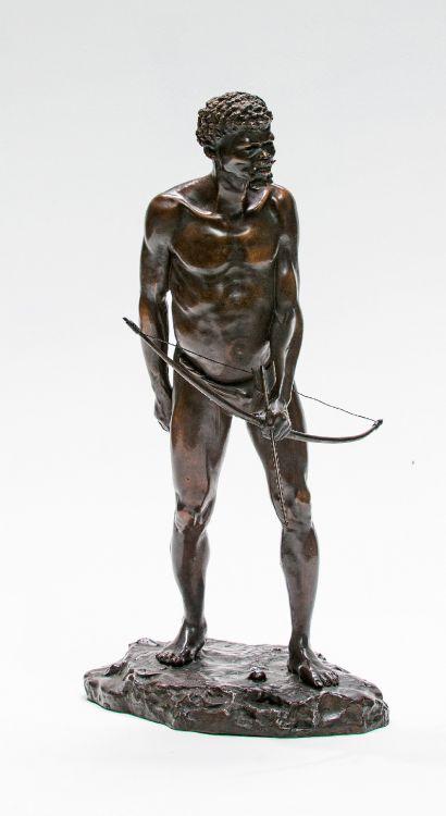 After Anton van Wouw; The Bushman Hunter