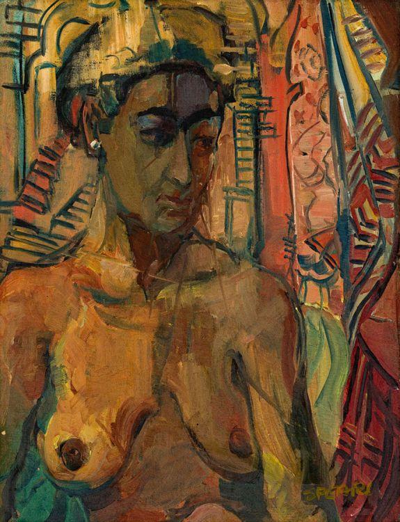 Frank Spears; Nude Torso, Zanzibar
