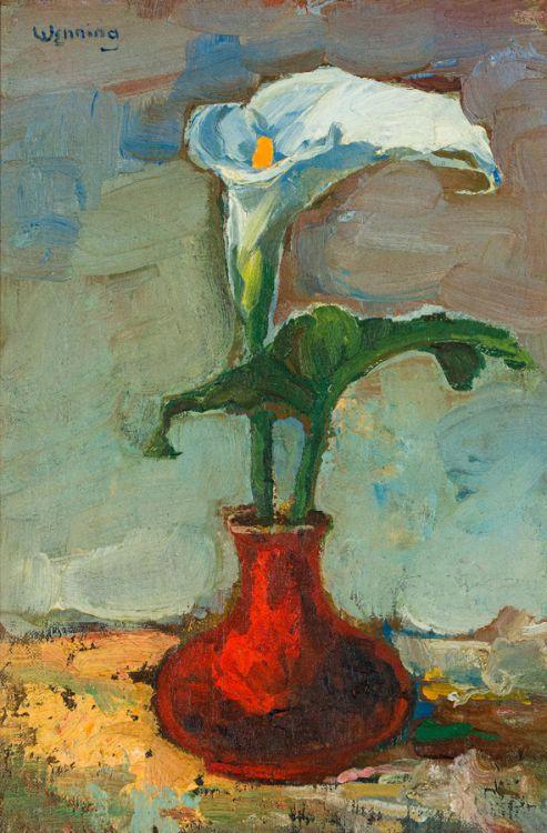 Pieter Wenning; Varkblom in Rooi Vaas