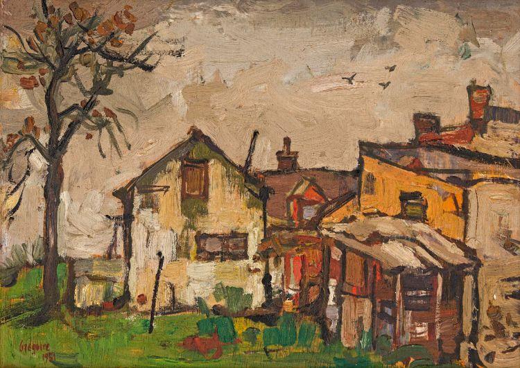 Gregoire Boonzaier; A Winter's Day