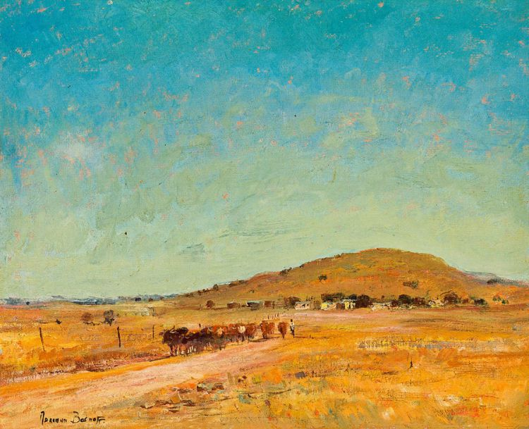 Adriaan Boshoff; Cattle Herder