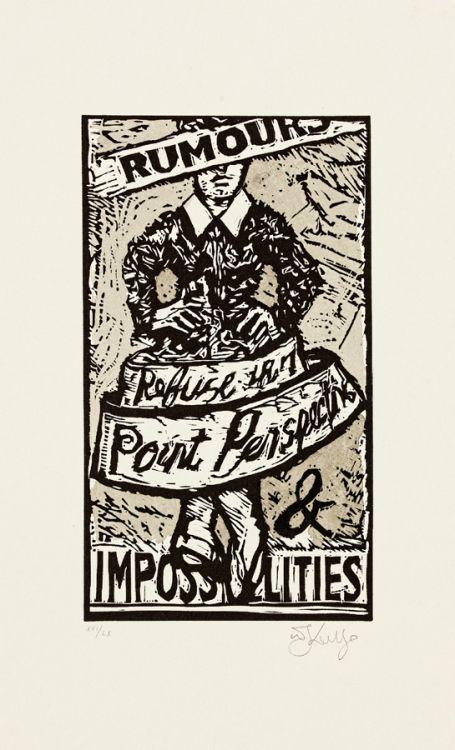 William Kentridge; Rumours and Impossibilities