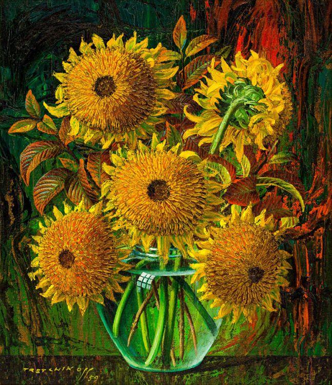 Vladimir Tretchikoff; Sunflowers