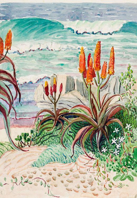 Edith King; Beach Aloes
