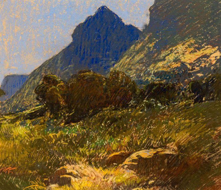 Robert Gwelo Goodman; Mountainous Landscape